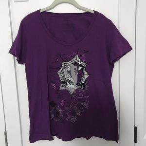 Purple 'Jack and Sally' T-Shirt